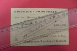 Epicerie Droguerie , Graines , Peinture Fregey-bonnot Succ Fournier Bligny Sur Ouche - Perfumería & Droguería