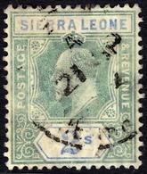 Sierra Leone 1903 2/- SG96 - Fine Used - Sierra Leone (...-1960)