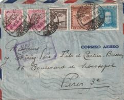 CHILI - LETTRE : Air France 100ème Traversée De L'Atlantique - 18/07/1936 - Chili