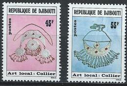 Djibouti YT 481-482 XX / MNH Artisanat - Djibouti (1977-...)