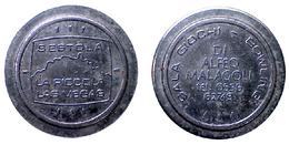 02436 GETTONE TOKEN JETON FICHA SALA GIOCHI MODENA SESTOLA LA PICCOLA LAS VEGAS - Unclassified