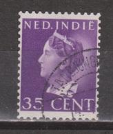 Nederlands Indie Netherlands Indies 280 Used ; Koningin, Queen, Reine, Reina Wilhelmina 1941 - Niederländisch-Indien