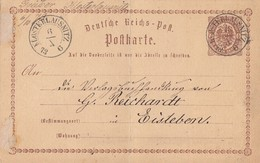 DR Ganzsache Nachv. Sachsenstempel Klosterlausnitz 6.10.73 - Briefe U. Dokumente
