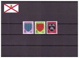 Jersey 1988 - MNH ** - Armoiries - Michel Nr. 439-441 Série Complète (gbj078) - Jersey