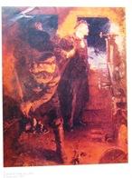USSR Soviet Russian Poster A4 Lenin Went To Petrograd 1979 Lénine Se Précipite à Petrograd - Posters