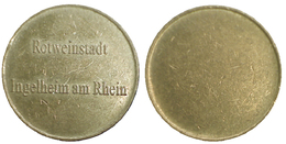01774 GETTONE TOKEN JETON FICHA LOCAL ROTWEINSTADT INGELHEIM AM RHEIN - Germany