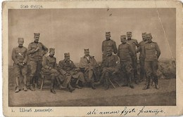 WW1 Headquarter Of Division. - Cartes Postales