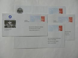 Prêt à Poster Réponse Luquet, 4 Enveloppes, Neuves, TB. - Entiers Postaux
