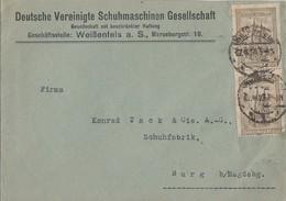 DR Brief Mef Minr. 2x 262 Weißenfels 27.8.23 - Allemagne