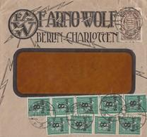DR Brief Mif Minr.254,9x 278 Charlottenburg 6.9.23 - Briefe U. Dokumente