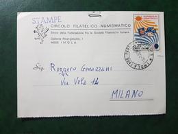 (6314) ITALIA STORIA POSTALE 1968 - 1961-70: Marcophilia