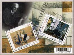 France Oblitération Cachet à Date BF N° F 4800 - Peinture De Georges Braque - Sheetlets