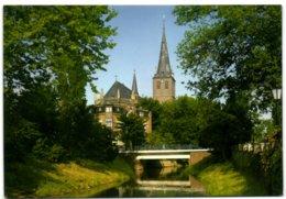 Goch / Niederrhein - Nierspartie Mit Pfarrkirche St. Maria Magdalena - Goch