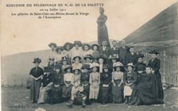 H207 - Souvenir Du Pélerinage De Notre-Dame-de-la Salette - Isère - Les Pélerins De St-Clair-du-Rhône - 1911 - Other Municipalities