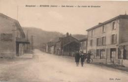 H207 - EYBENS - Isère - Les Javaux - La Route De Grenoble - Autres Communes