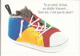 CPM  Thème Animaux Chat Dans Une Chaussure Basquette Cat Réf 2214 - Katten
