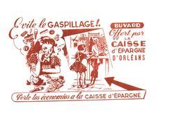 B&A C E/Buvard Banque & Assurance Caisse D'Epargne D'Orléans  (Fmt16 X 11) (N= 2) - Banque & Assurance