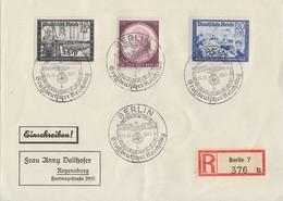DR R-Brief Mif Minr.776,777,810 SST Berlin 11.12.41 - Germany