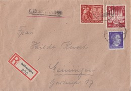 DR R-Brief Mif Minr.785,862,863 Schleusingen - Deutschland