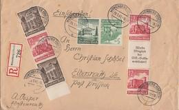 DR R-Brief Mif Minr.Zdr. Minr.S252, S254, K33 Münchberg 29.1.41 - Briefe U. Dokumente