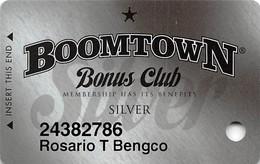 Boomtown Casino Reno, NV - Slot Card - Copyright 2009 - Cartes De Casino