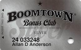 Boomtown Casino Reno, NV - Slot Card - Copyright 2011 - Casino Cards