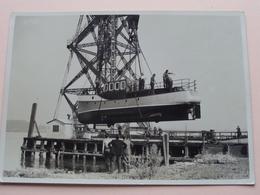 "Schip / Bateau / Schiff / Boat / Ship "" DE ZEE "" Oostende ( Zie Foto's / 3 Stuks ) Formaat 18 X 13 Cm ! - Bateaux"