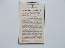 Oud Bidprentje: Rachel HUYGHE Dochtervan Wijlen Carolus & Pharailde VANDAELE, Diksmuide4/10/1882 - Gistel 7/6/1936 - Obituary Notices