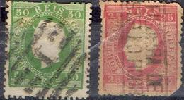 PORTUGAL ! Timbres Anciens De 1870 - 1862-1884 : D.Luiz I