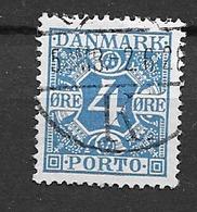 1921 USED Danmark Porto Mi 10 - Segnatasse