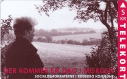 Denmark, TP 019, 5kr,  Socialdemocratic Party, Mint Only 3500 Issued, 2 Scans. - Dänemark