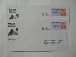 Prêt à Poster Réponse Beaujard, POSTREPONSE Lettre Prioritaire, 2 Enveloppes Neuves, TB. - Entiers Postaux