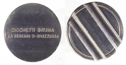 00275 GETTONE TOKEN JETON RIVIERA ROMAGNOLA SALA GIOCHI CICCHETTI BRUNA RIVAZZURRA - Italie