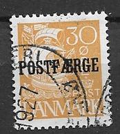 1927 USED Danmark Postffähre Mi 13 - Parcel Post