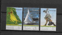 LOTE 1786  ///  (C030) Australia 1986   YVERT 977/979  Série Complète Victoire América Coupe 1983 - 1980-89 Elizabeth II