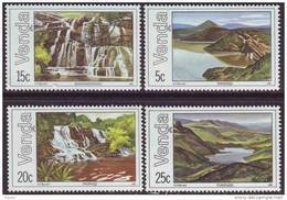 D90819 Venda South Africa 1981 GEOLOGY WATERFALLS LAKES MNH Set - Afrique Du Sud Afrika RSA Sudafrika - Venda