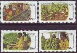 D90819 Venda South Africa 1980 FARMING BANANAS MNH Set - Afrique Du Sud Afrika RSA Sudafrika - Venda