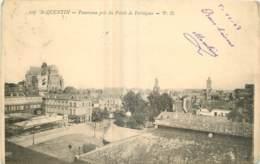 02 -  SAINT QUENTIN -  PANORAMA PRIS DU PALAIS DE FERVAQUES - Saint Quentin