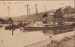 Namur Sambre Et Meuse Binnenschip  Peniche Barge Binnenvaart Binnenvaartschip (En Bon Etat) - Namur