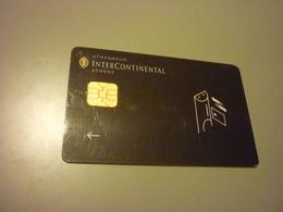 Greece Athens Athenaeum Intercontinental Hotel Chip Key Card - Cartas De Hotels