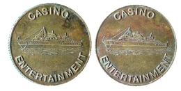 01133 GETTONE TOKEN JETON FICHA CASINO ENTERTEINEMENT - Casino