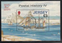 Jersey 2010 MNH Scott #1448 3pd 'Watersprite' Mail Ships Postal History IV - Jersey