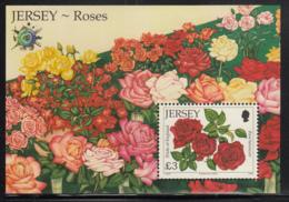 Jersey 2010 MNH Scott #1455a 3pd Pride Of England Rose Salon Du Timbre Emblem - Expositions Philatéliques