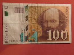 Billet De 100 Francs 1997 Paul Cezanne - 1992-2000 Dernière Gamme