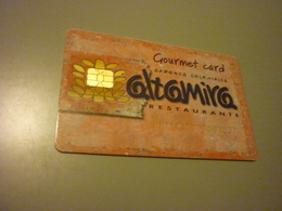 Greece Altamira Restaurant Chip Member Discount Card - Other Collections
