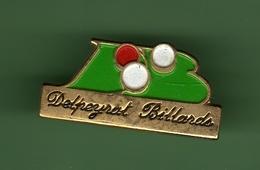 BILLARDS *** DELPEYRAT *** A012 - Billiards