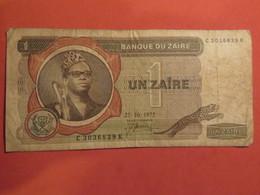 Billet 1 Zaïre ZAÏRE 1975 - Zaïre