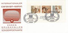 Germany - Internationaler Caravan -Salon. Essen Grugahallen. 1978.  # 567 # - Exhibitions