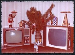 C0014 - Foto - Fernseher Television - DDR - Weihnachten Pyramide - Fotografie