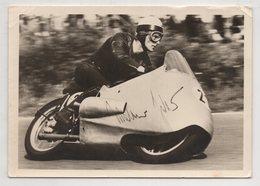 3312  Motorcycle Racer Walter Zeller On BMW - Moto